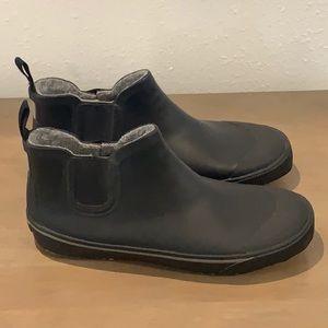 Tretorn men's black rubber boots Sz 8 Euro 41